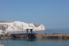 Entrée dans le port de Douvres