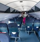 la cabine du DC 3