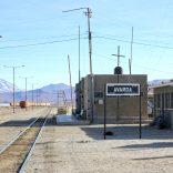 Bolivie - Salar de Uyuni, la gare.