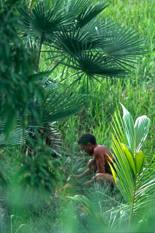 Jeune brésilien au travail