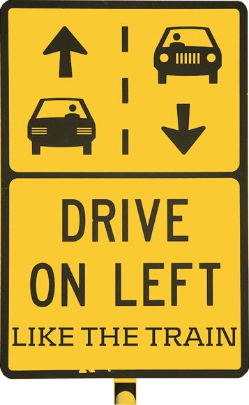 Drive on the Left B Ecosse Angleterre